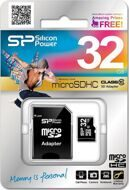 Silicon Power micro SDHC Card 32GB класс 10